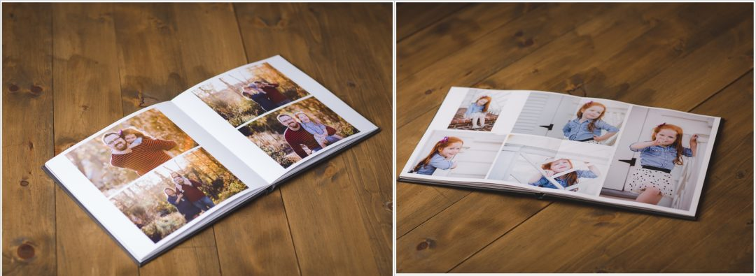 photo albums, kristina rose photography