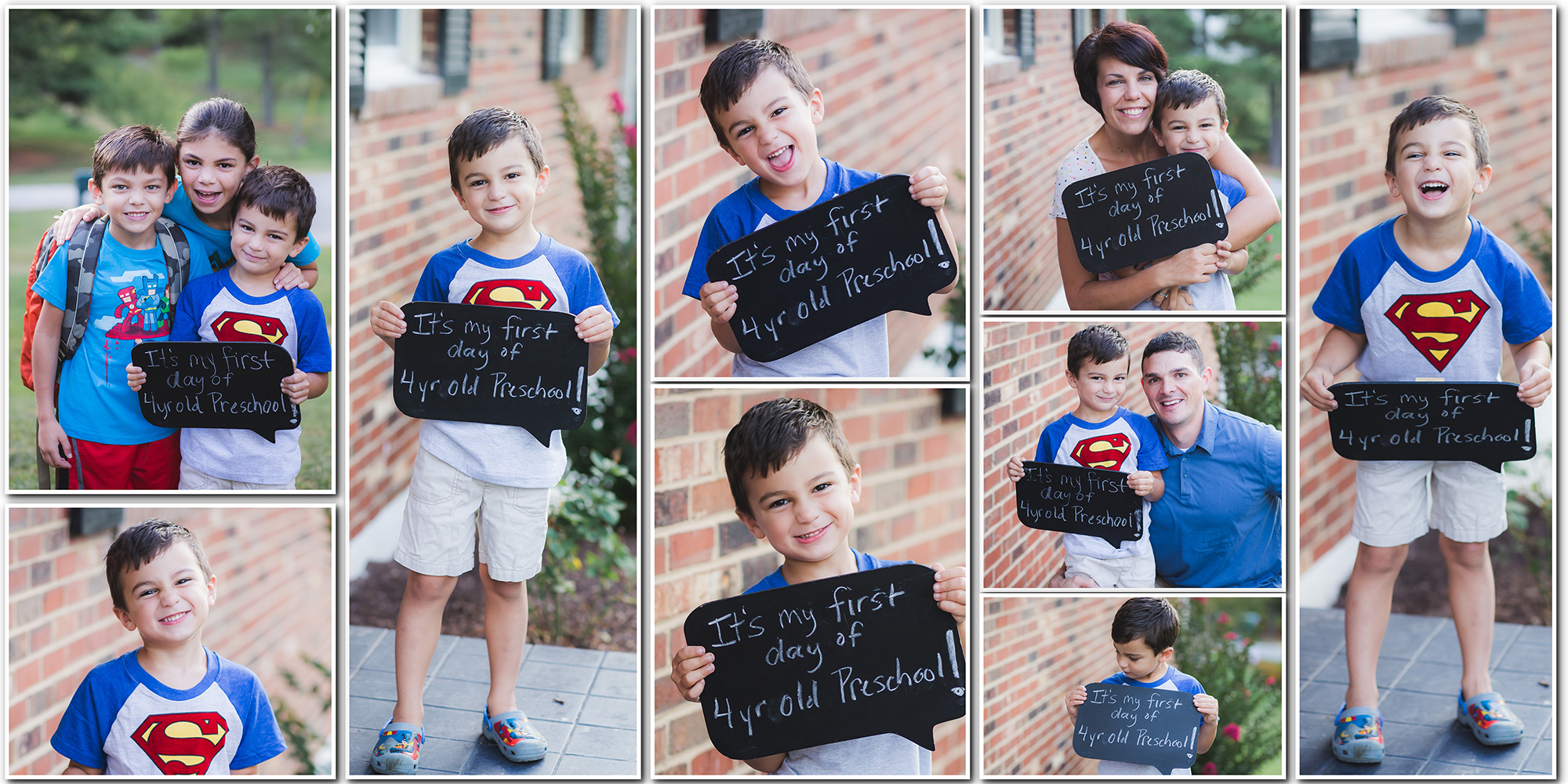 first day of school photos kristina rose photography