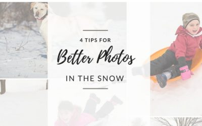 4 Tips for Better Photos in the Snow