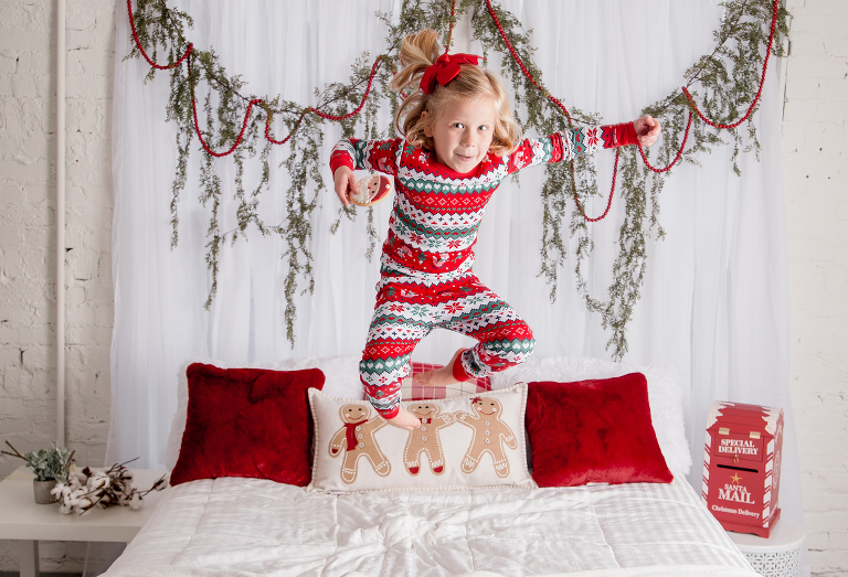 mail your letter to santa kristina rose photography
