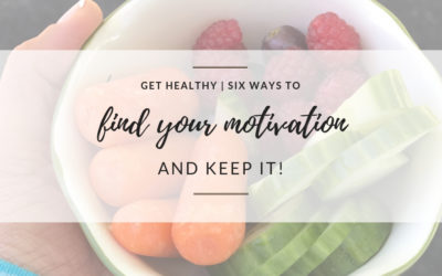 GET HEALTHY | Six Ways to Find Your Motivation and Keep It.