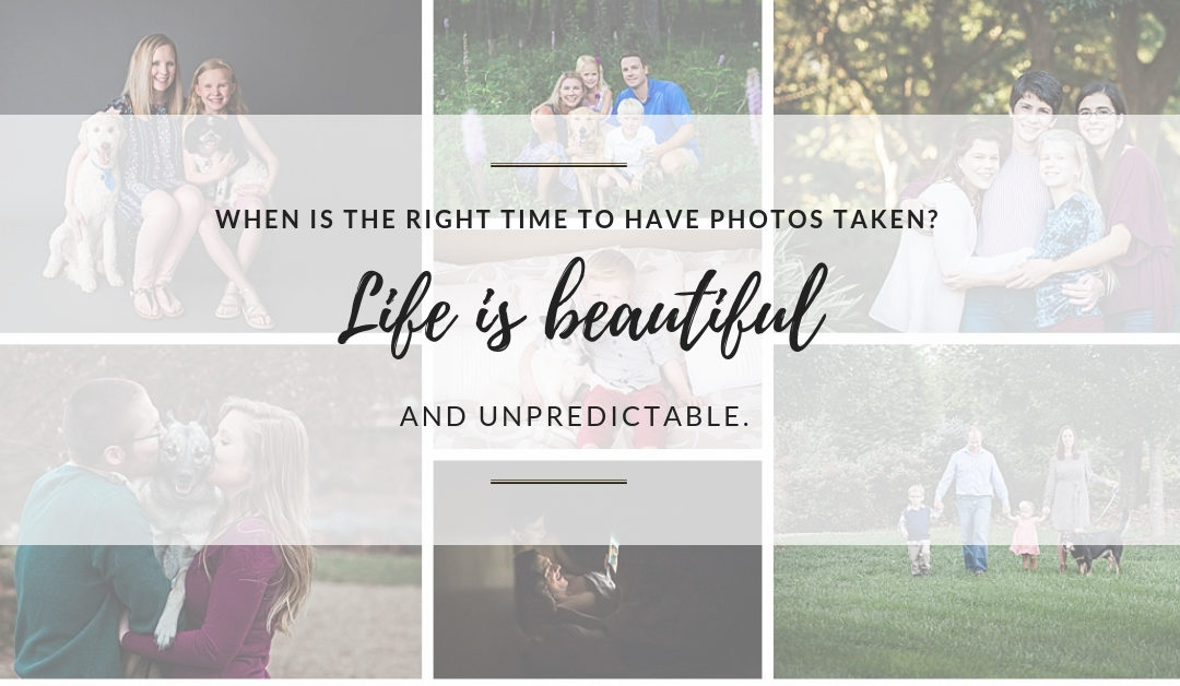 When Should You Have Photos Taken? | Christiansburg, VA Family Photographer