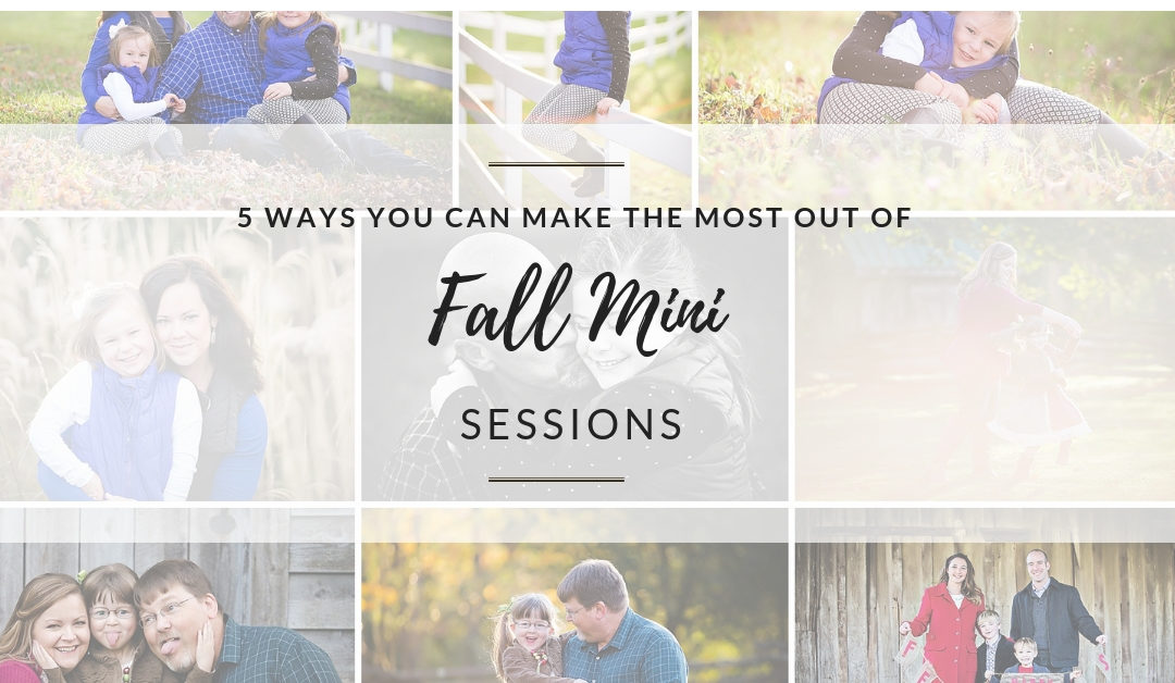 Fall Mini Sessions – Blacksburg, VA Photographer