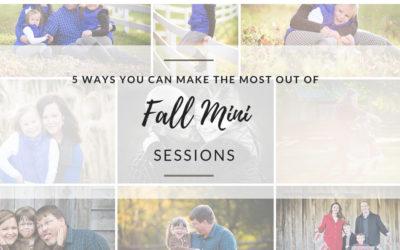 Fall Mini Sessions – Blacksburg, VA Photographer