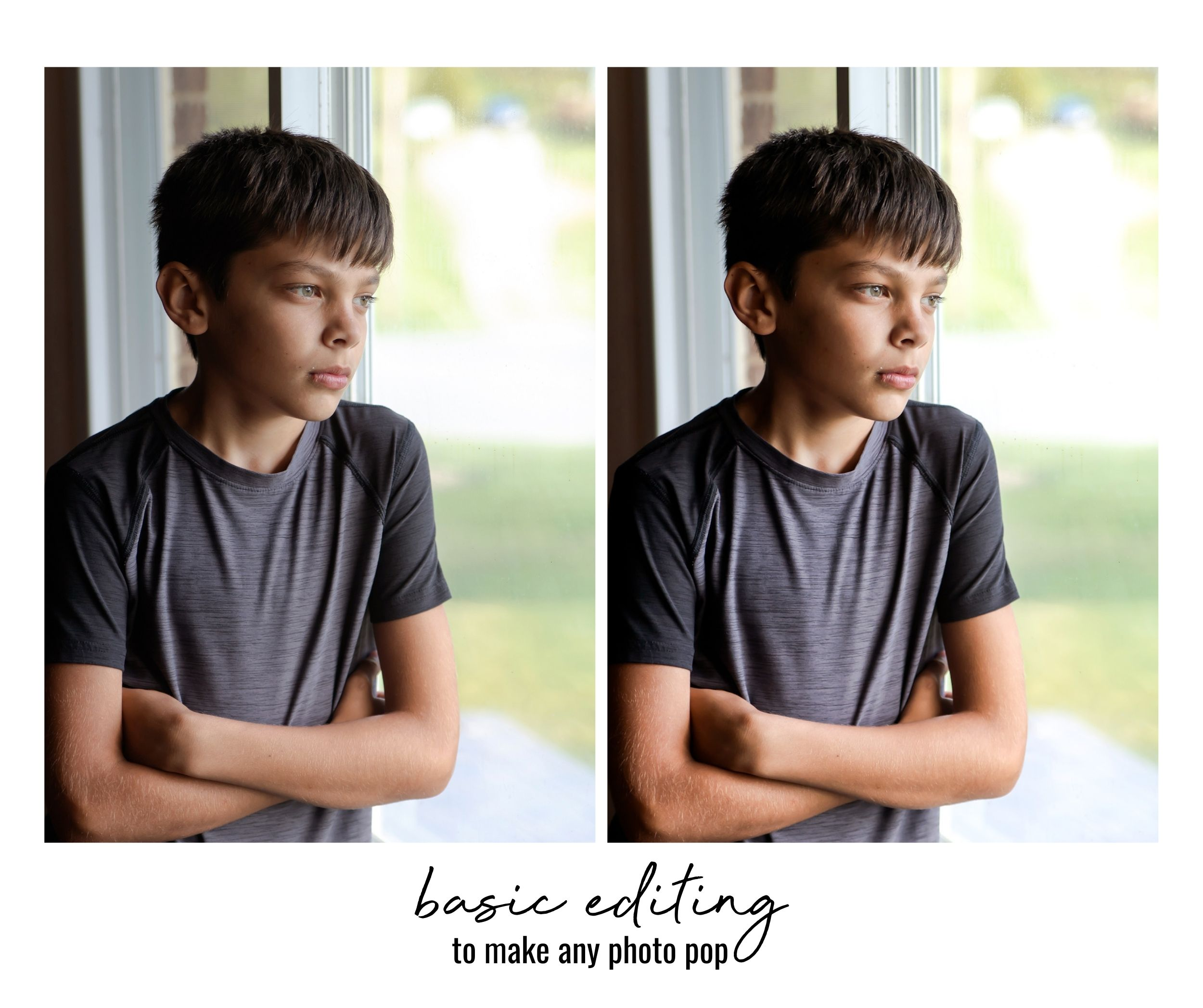 how to photograph your kids