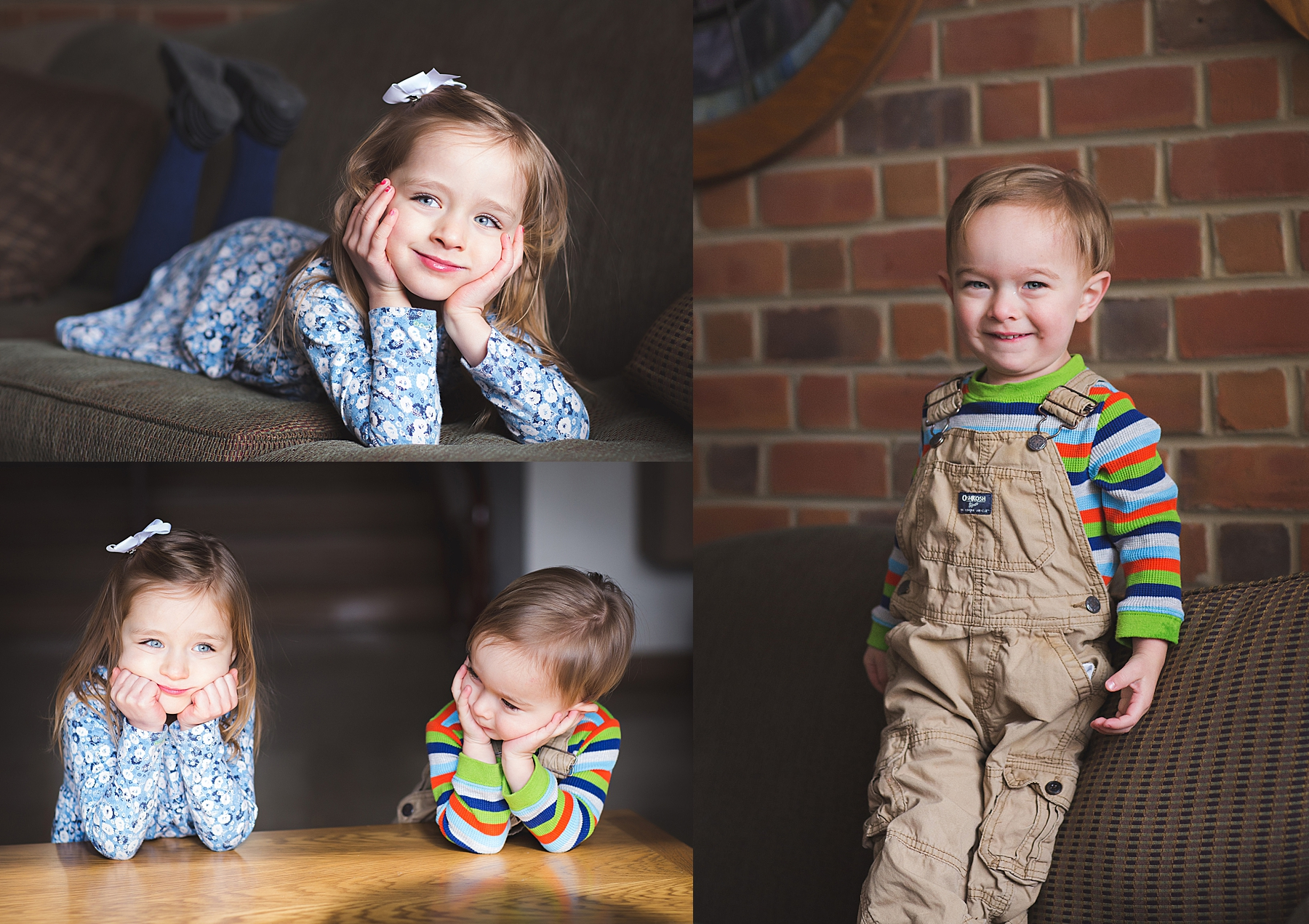 photos of little boy and girl taken with window light how to take good pictures kristina rose photography