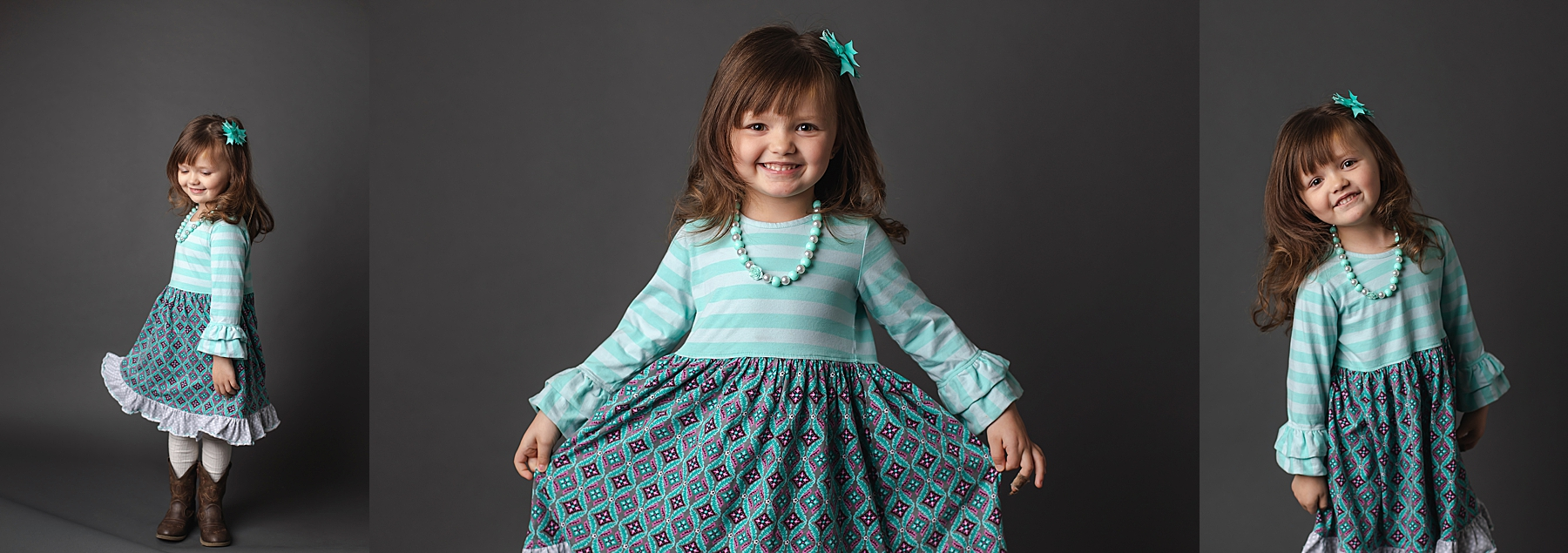 little girl holding dress and twirling in photo how to take good pictures kristina rose photography