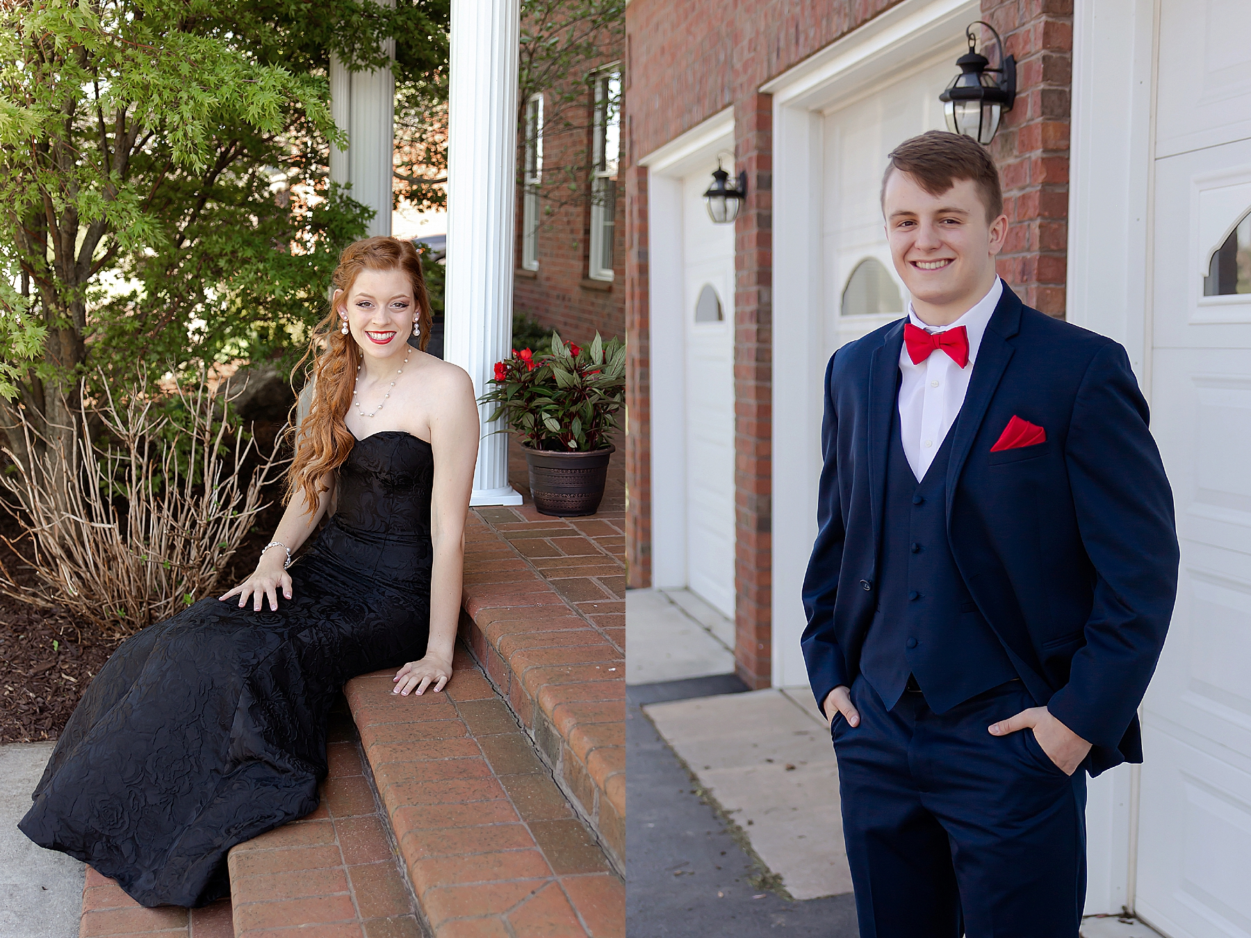 using open shade prom photos on the porch how to take good pictures kristina rose photography