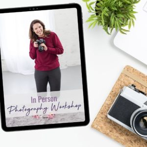 in person photography workshop