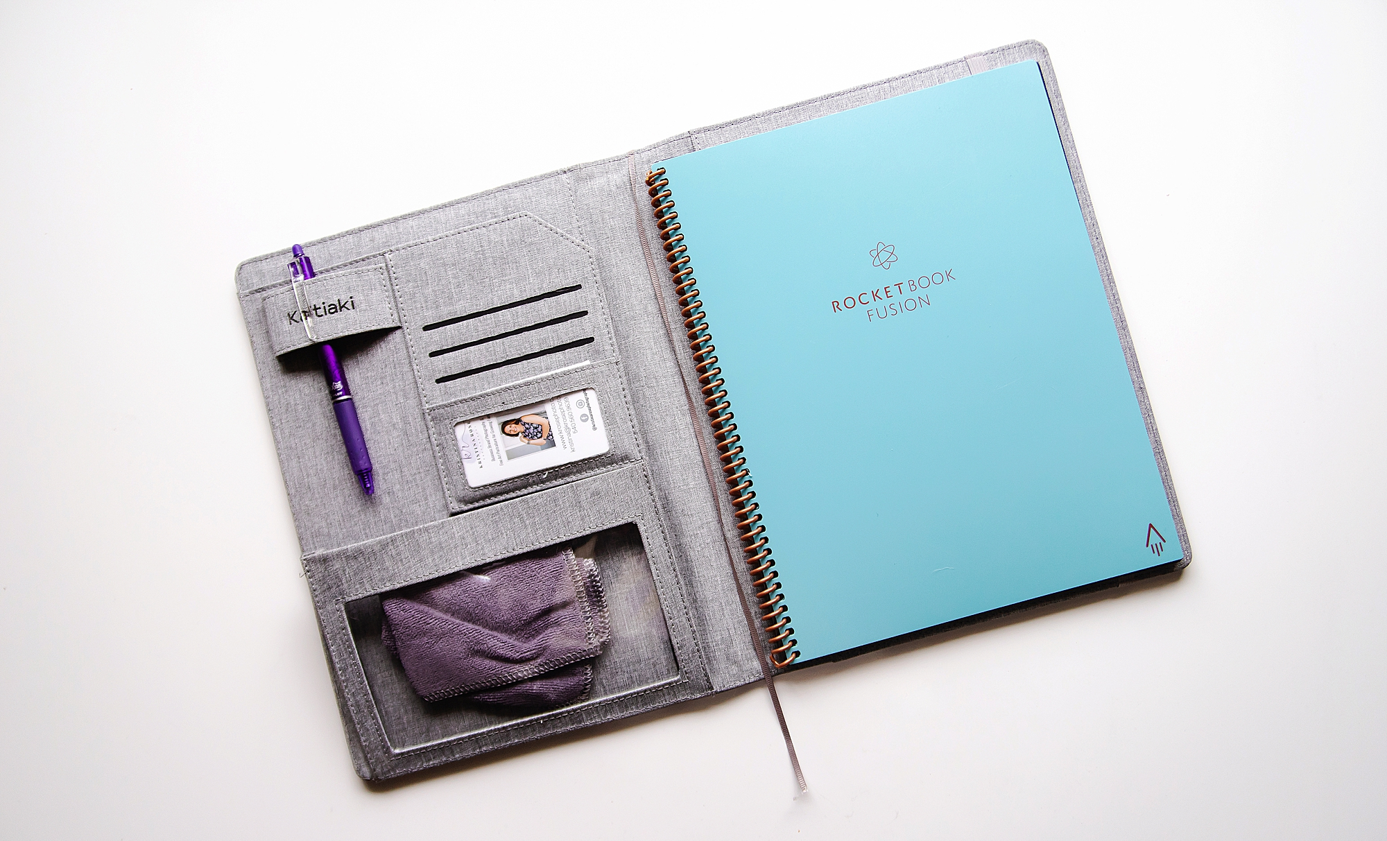 rocket fusion notebook photography business kristina rose photography